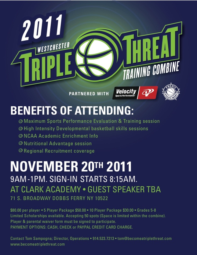 Triple Threat Training Combine 11/20/11